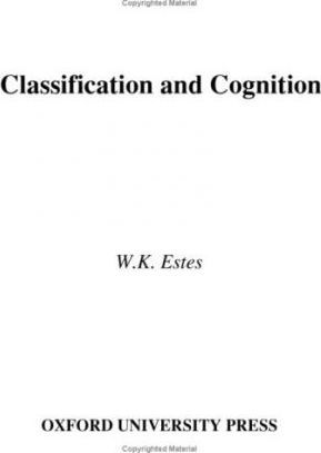Classification and Cognition