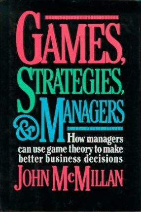 Games, Strategies and Managers