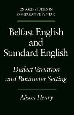 Belfast English and Standard English