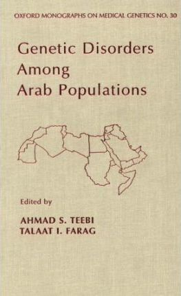 Genetic Disorders Among Arab Populations