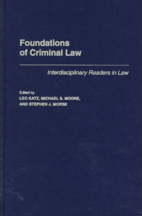 Foundations of Criminal Law
