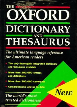 The Oxford Dictionary and Thesaurus