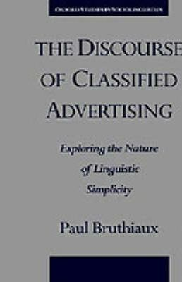 The Discourse of Classified Advertising