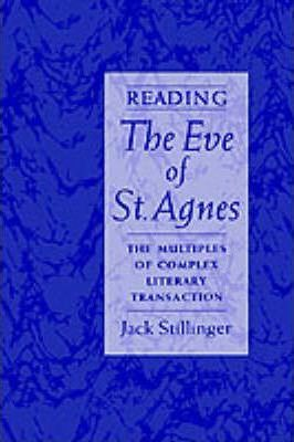 Reading The Eve of St Agnes