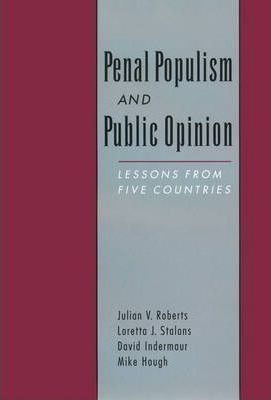 Penal Populism and Public Opinion