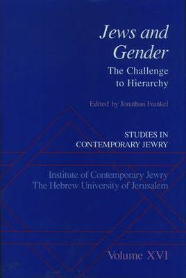 Studies in Contemporary Jewry XVI: Jews and Gender