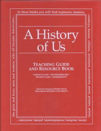 Lesson Plans for a History of Us - Book 7