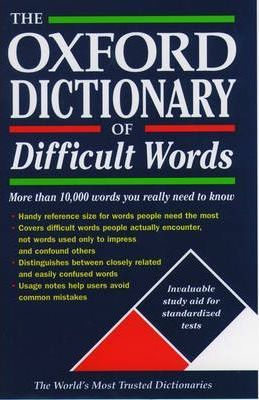 The Oxford Dictionary of Difficult Words