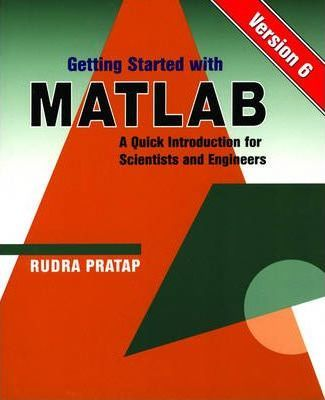 Getting Started with MATLAB 6