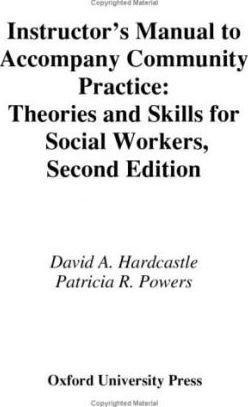 Instructor's Manual to Accompany Community Practice