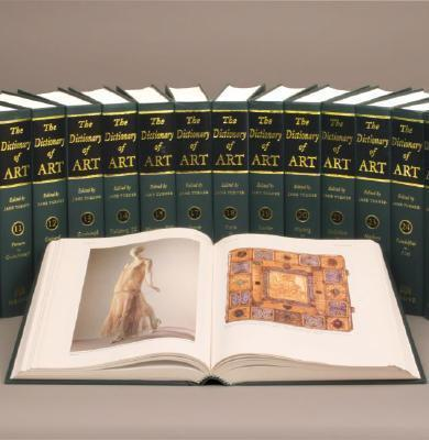 The Grove Dictionary of Art: 34 Volumes