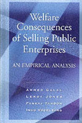 Welfare Consequences of Selling Public Enterprise