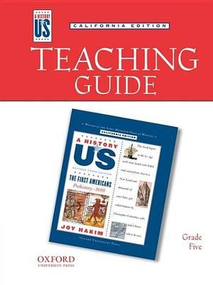 Teaching Guide to First Americans Grade 5 3e Hofus (California Edition)