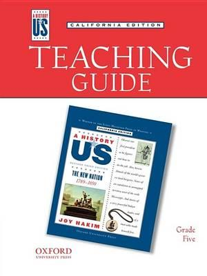 Teaching Guide to New Nation Grade 5 3e Hofus (California Edition)