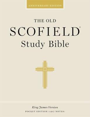 The Old Scofield (R) Study Bible, KJV, Pocket Edition, Pacific Duvelle