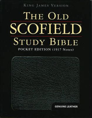 The Old Scofield Study Bible, KJV, Genuine Leather