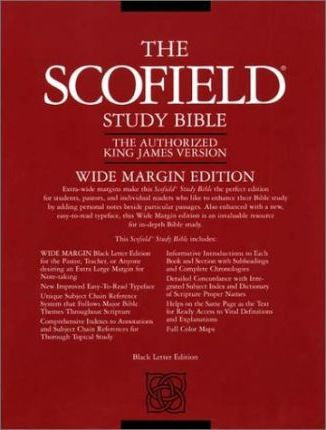 Old Scofield Study Bible-KJV-Wide Margin