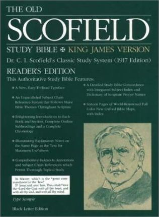 Old Scofield Study Bible-KJV-Readers