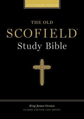 The Old Scofield (R) Study Bible, KJV, Classic Edition - Bonded Leather, Navy, Thumb Indexed
