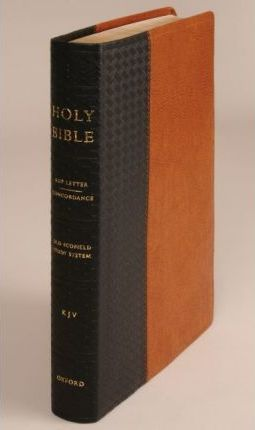 The Old Scofield Study Bible, KJV, Basket Weave