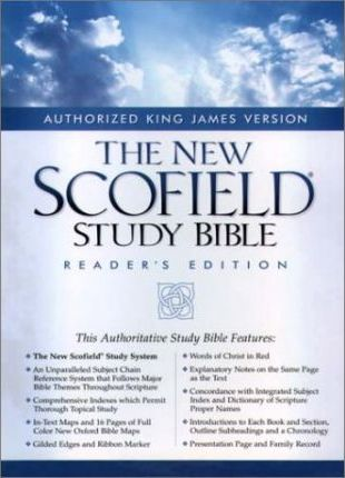 The New Scofield(r) Study Bible, KJV, Reader's Edition