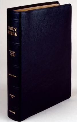 The Scofield Study Bible III, HCSB, Bonded Leather Black Indexed