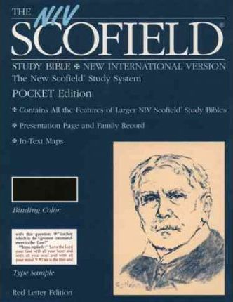 Scofield Study Bible-NIV-Pocket