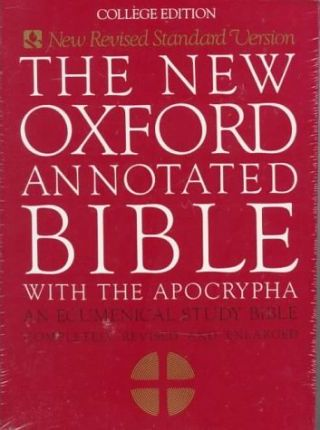 New Oxf Annotated Bible a Nrsv Pb