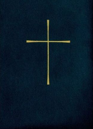 1979 Book of Common Prayer, Blue Genuine Leather