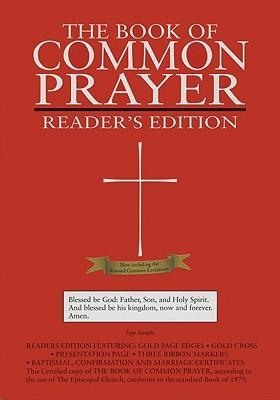 1979 Book of Common Prayer Reader's Edition Burgandy Genuine Leather