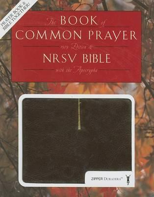 Book of Common Prayer and Bible with the Apocrypha-NRSV-Zipper