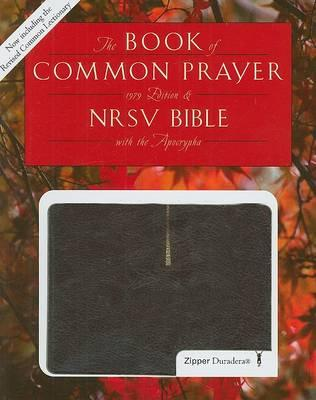 1979 Book of Common Prayer and the New Revised Standard Version Bible with Apocrypha, Duradera Zipper Burgundy, 9632apz