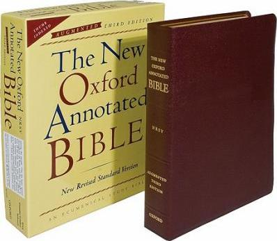 New Oxford Annotated Bible-NRSV-Augmented