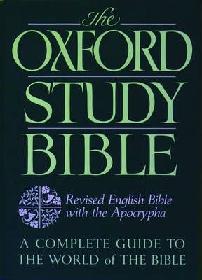 Bible: Revised English Bible with Apocrypha - Oxford Study Bible