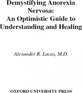 Demystifying Anorexia Nervosa