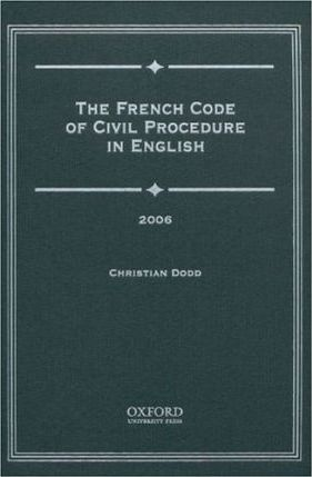 French Code of Civil Procedure in English 2006