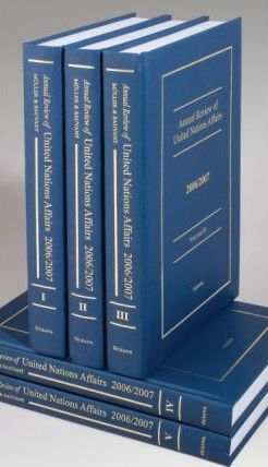 Annual Review of United Nations Affairs: 34 volumes