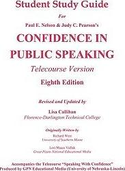 Student Study Guide for Confidence in Public Speaking