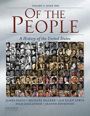 Of the People: Since 1865 v. II