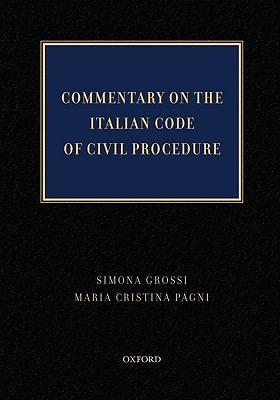 Commentary on the Italian Code of Civil Procedure