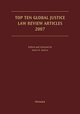 Top Ten Global Justice Law Review Articles 2007