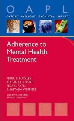 Adherence to Mental Health Treatment