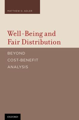 Well-Being and Fair Distribution