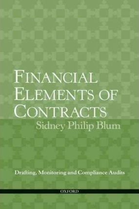 Financial Elements of Contracts