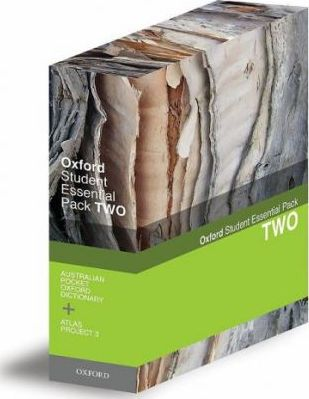 Oxford Atlas Project 3 and Australian Pocket Oxford Dictionary
