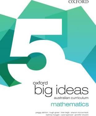 Oxford Big Ideas Maths Year 5 Student Book