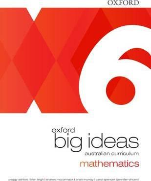 Oxford Big Ideas Maths Year 6 Student Book