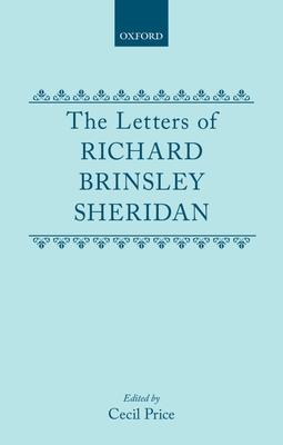 The Letters of Richard Brinsley Sheridan