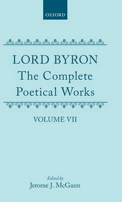 The Complete Poetical Works: Volume 7