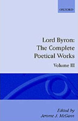 The Complete Poetical Works: Volume 3 Cover Image